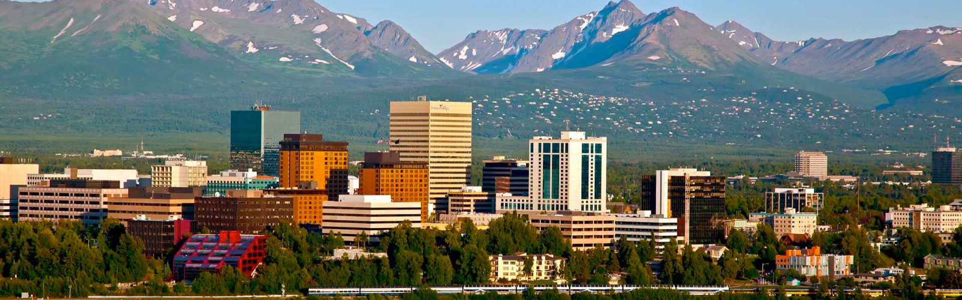 Anchorage Train Trips | Downtown Anchorage
