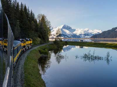 Best of Alaska by Train & Glaciers | First-time Favorites