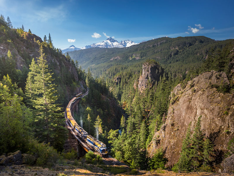 Alaska Cruise and Land Tour with Denali & Canadian Rockies | Rocky Mountaineer Train