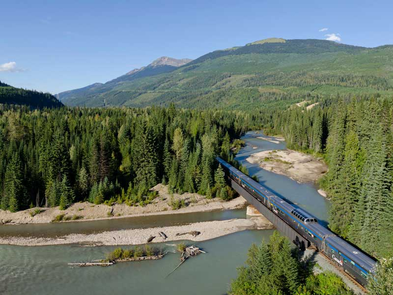 Alaska Cruise and Land Tour with Denali & Canadian Rockies | VIA Rail