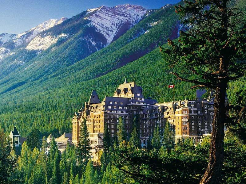Alaska Cruise and Land Tour with Denali & Canadian Rockies | Fairmont Banff Springs Hotel